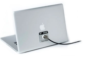 STOP Lock Computer Security Lock on MacBook
